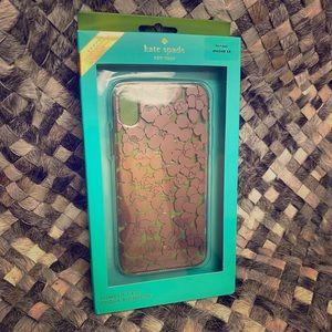 Kate Spade Floret Clear IPhone Case